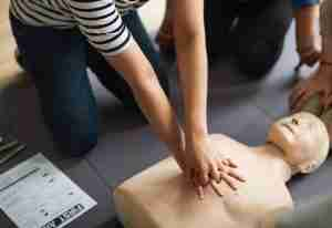 first aid training courses london
