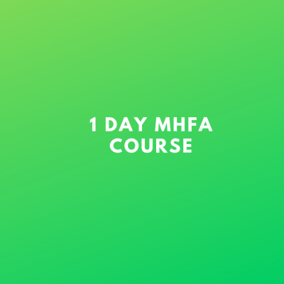 1 day MHFA course