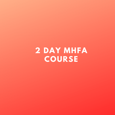2 day mhfa course