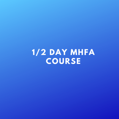 half day MHFA course